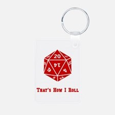 20 Sided Roll Keychains