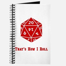 20 Sided Roll Journal