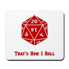 20 Sided Roll Mousepad