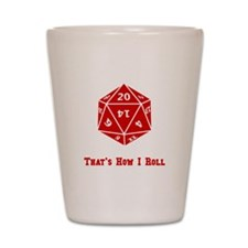 20 Sided Roll Shot Glass