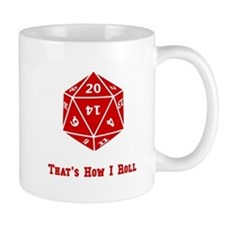 20 Sided Roll Mug