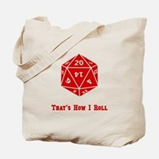 20 Sided Roll Tote Bag