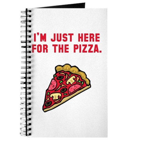 Here For The Pizza Journal