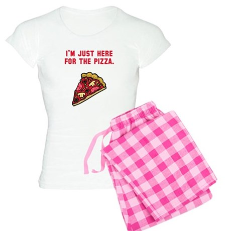 Here For The Pizza Women's Light Pajamas