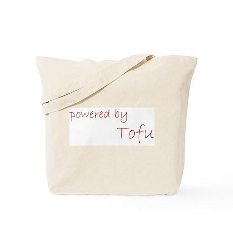 Powered by Tofu Tote Bag