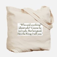 Not Safe Tote Bag