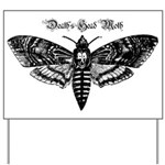 Death's Head Moth Yard Sign