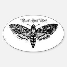 Death's Head Moth Decal