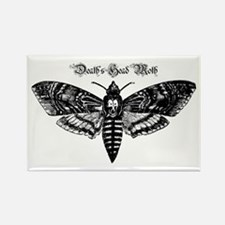 Death's Head Moth Rectangle Magnet