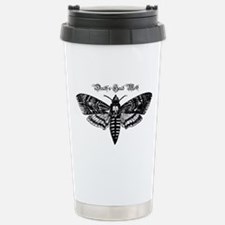 Death's Head Moth Stainless Steel Travel Mug