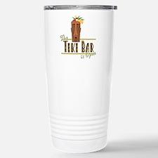 The Tiki Bar is Open - Stainless Steel Travel Mug