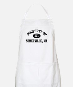 Property of Somerville BBQ Apron
