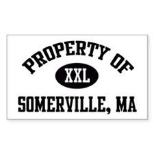 Property of Somerville Rectangle Decal