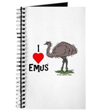I Love Emus Journal