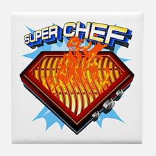 Super Chef Power! Tile Coaster