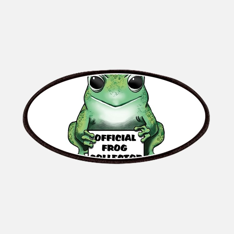 Frog Collector Patches