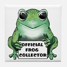 Frog Collector Tile Coaster