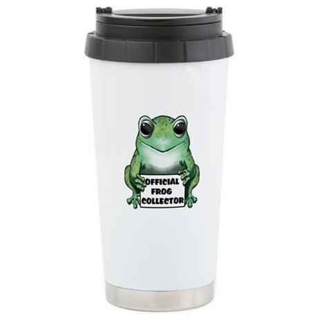 Frog Collector Stainless Steel Travel Mug