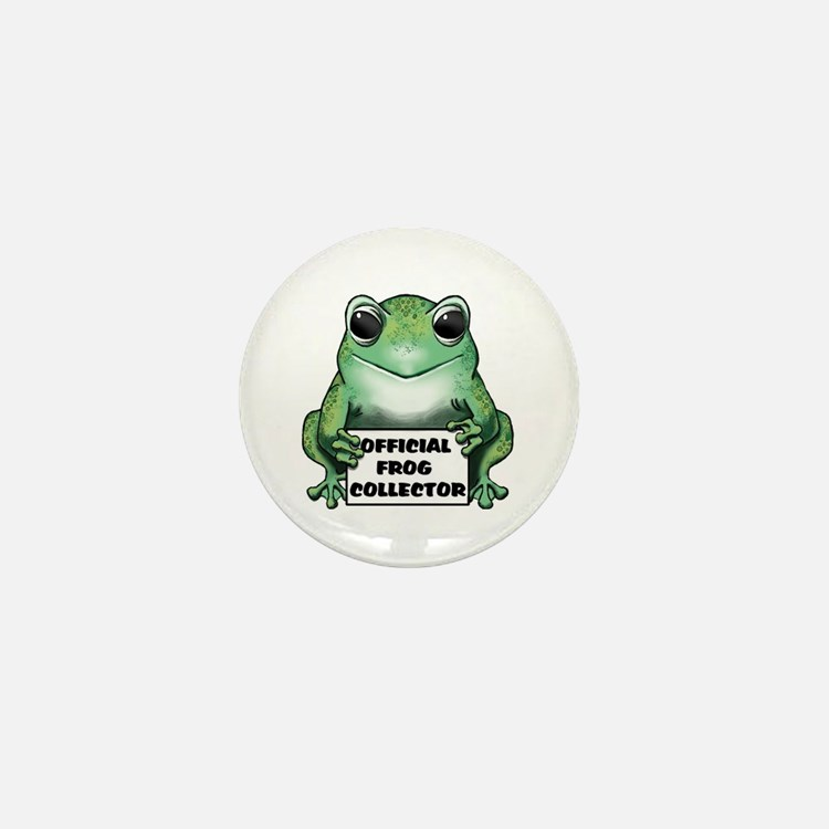 Frog Collector Mini Button