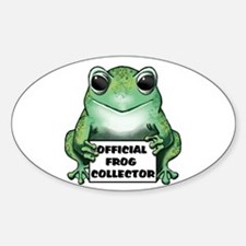 Frog Collector Decal