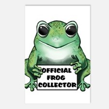 Frog Collector Postcards (Package of 8)