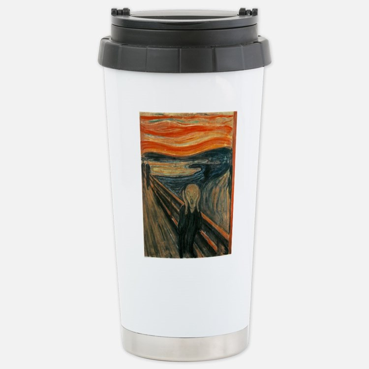 Cute Anguish Travel Mug