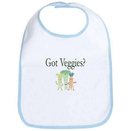 Got Veggies? Vegetarian Bib