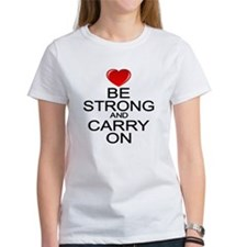 Be Strong Carry On Tee