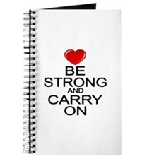 Be Strong Carry On Journal