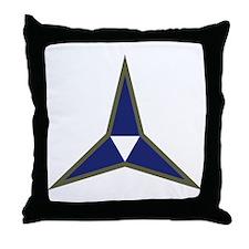 III Corps Throw Pillow
