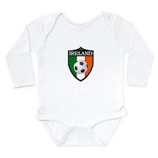 Ireland Soccer Patch Long Sleeve Infant Bodysuit