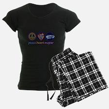 PEACE HEART MOPAR Pajamas