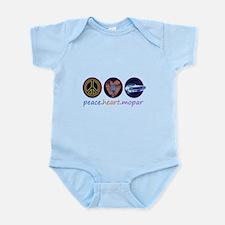 PEACE HEART MOPAR Infant Bodysuit