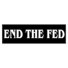 End The Fed - Car Sticker