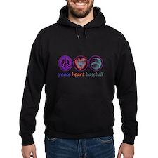 PEACE HEART BASEBALL Hoodie