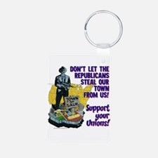 $9.99 Support Your Unions! Photo KeyChain