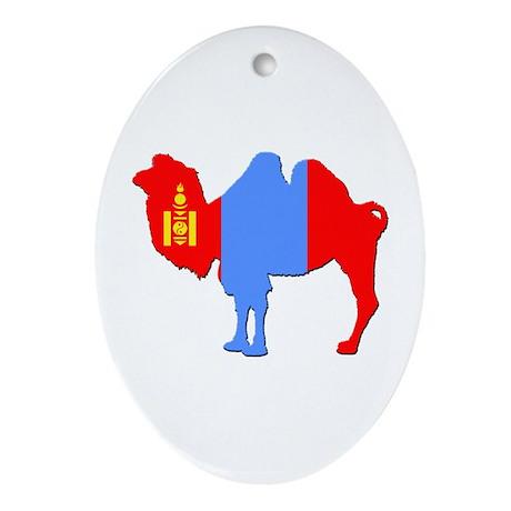 Mongolian Camel Ornament (Oval)