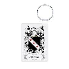Glisson Aluminum Photo Keychain