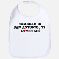 Someone in San Antonio Bib