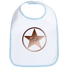 Sheriff Badge Bib