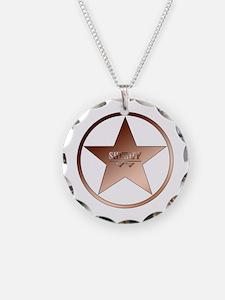 Sheriff Badge Necklace