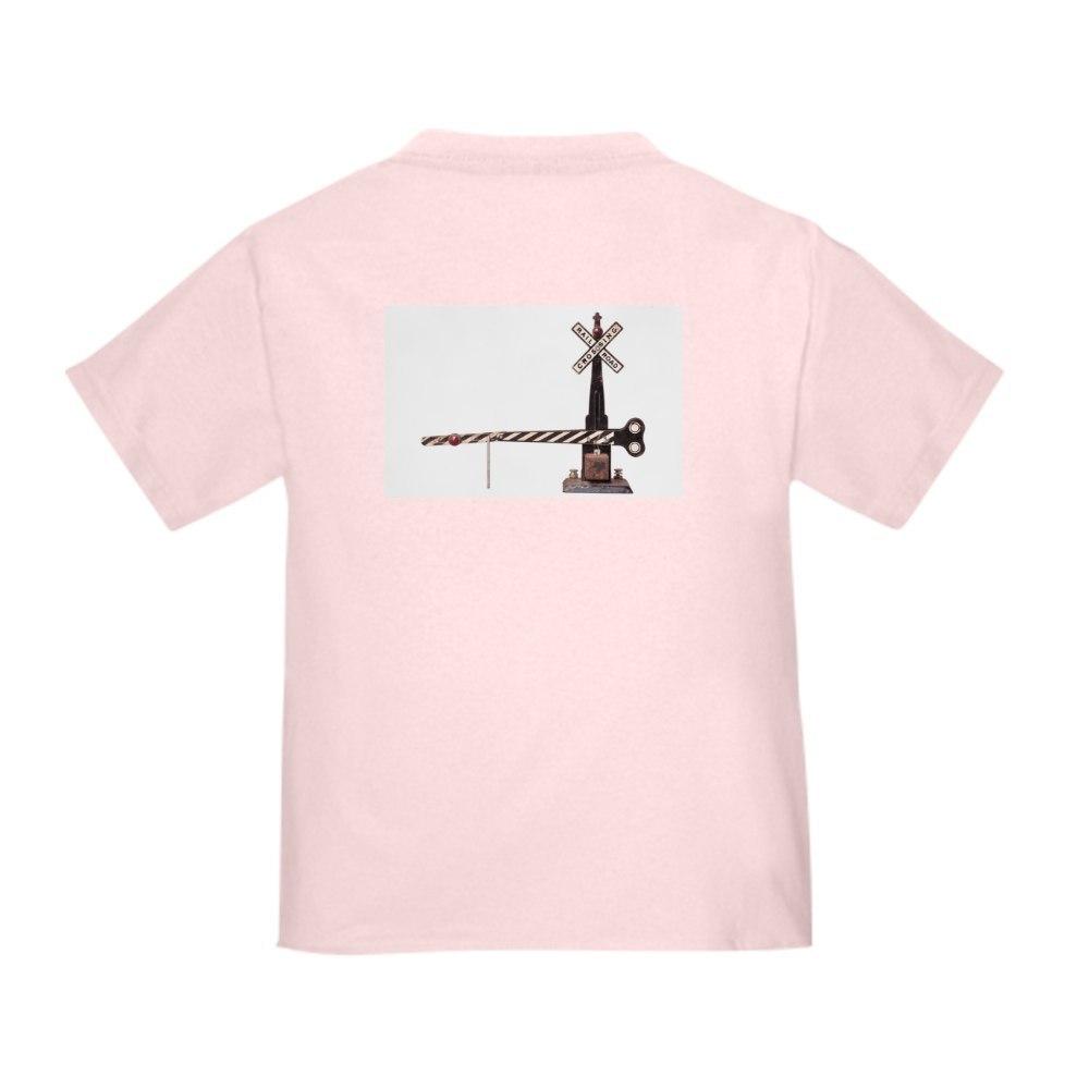 CafePress Railroad Crossing Gate Toddler T Shirt Toddler T-Shirt 53964560