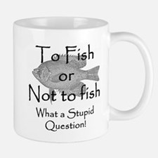 To Fish or Not to Fish Large Mugs