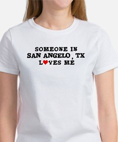 Someone in San Angelo Women's T-Shirt