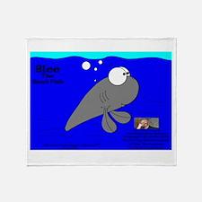 Blee The Spud Fish! Throw Blanket