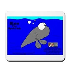 Blee The Spud Fish! Mousepad