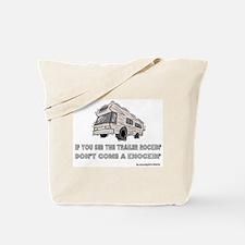 Knockin Rockin Tote Bag