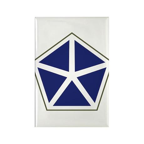 V Corps Rectangle Magnet (10 pack)