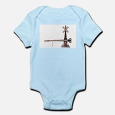 Railroad Crossing Gate Infant Creeper