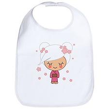 cherry blossom girl Bib